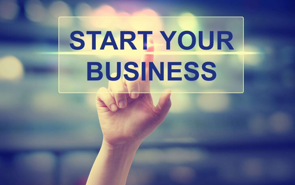 start your business in sports