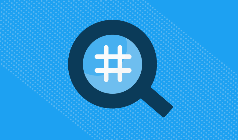 Use of Keywords hash tags to get twitter followers